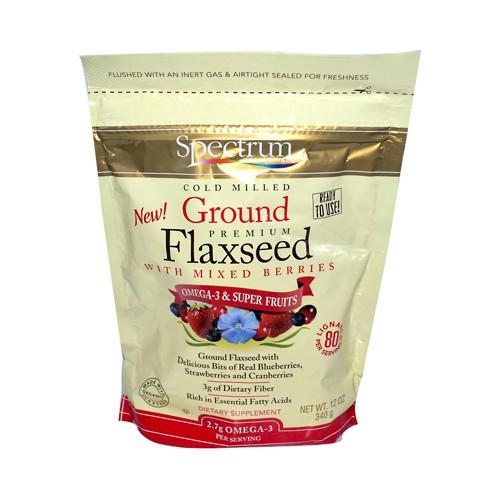 Spectrum Essentials Ground Flax with Mixed Berries
