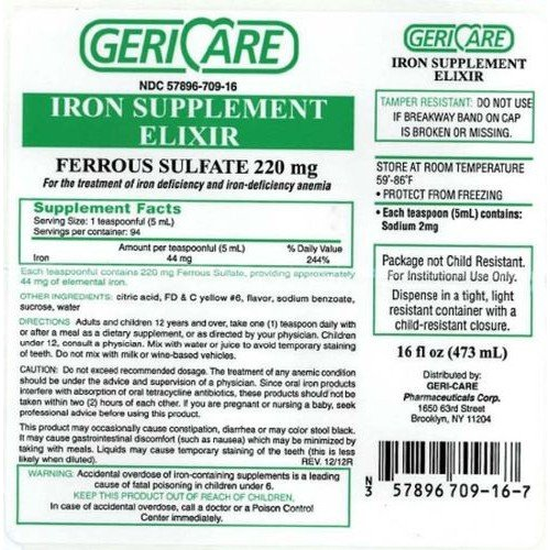 McKesson Iron Supplement