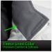 Quilted Nylon Heated Vest Fleece Lined Collar Women's Vest