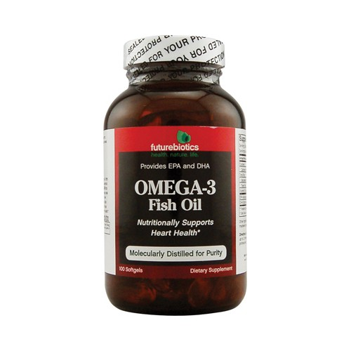 FutureBiotics Omega 3 Fish Oil Dietary Supplement