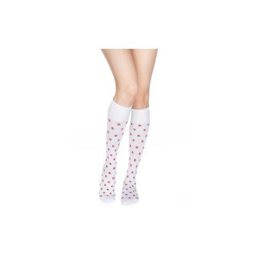 Rejuva Women's Rose Compression Socks Knee High 15-20 mmHg