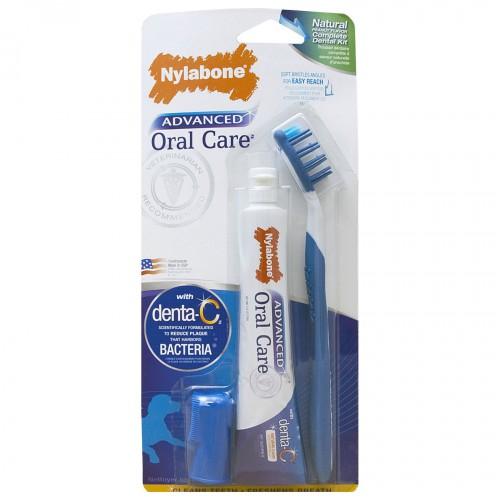 Advanced Oral Care Natural Dog Dental Kit