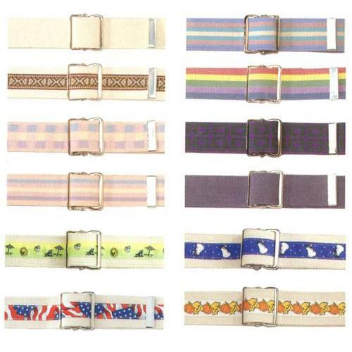 Posey Gait Belt Transfer Belts in Assorted Patterns