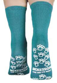 slipper socks medi pak above the ankle skid resistant tread sock 314