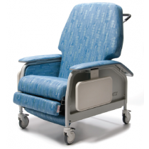 Lumex Extra-Wide Deluxe Clinical Care Geri Chair Recliner FR587W