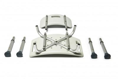 knock down bath seat w backrest b55