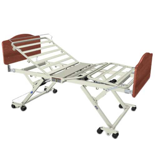 invacare carroll cs7 long term care hospital bed 500 pound capacity fd6