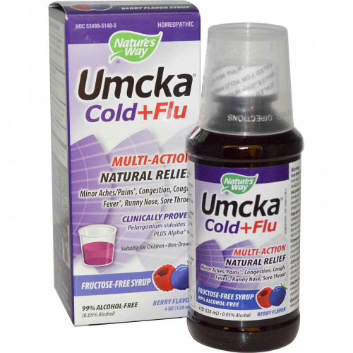 Natures Way Cold and Flu Relief