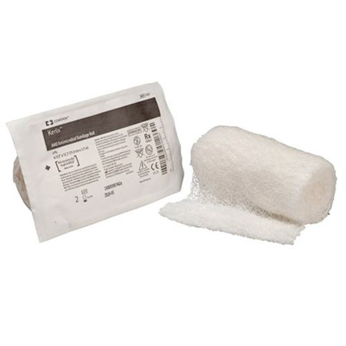Kendall 3332 KERLIX Antimicrobial AMD Gauze Roll 4 Inch x 4 Yards 6 Ply - Sterile with PHMB