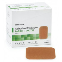 Mckesson Adhesive Bandages - Fabric and Plastic