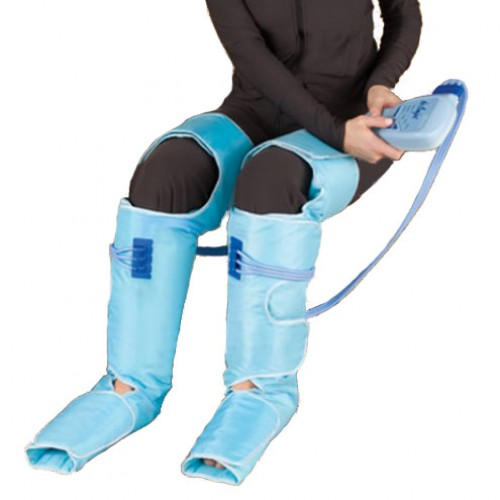 Leg Compression Pump and Compression Sleeve Wraps