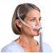 Swift™ FX Nasal Pillows - Woman Front Side View