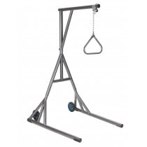 Heavy Duty Silver Vein Trapeze with Base and Wheels