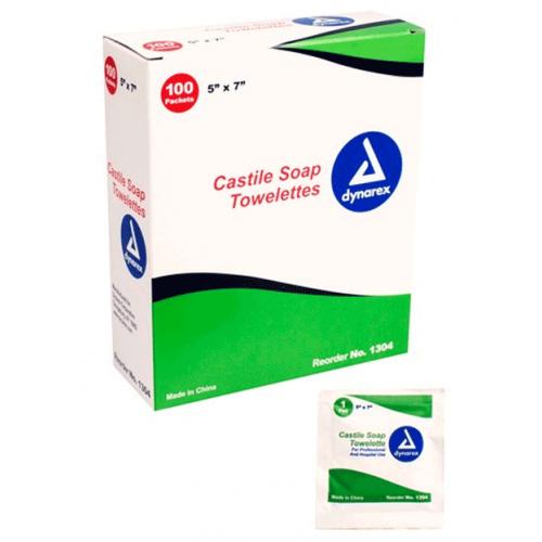 Castile Soap Towelettes