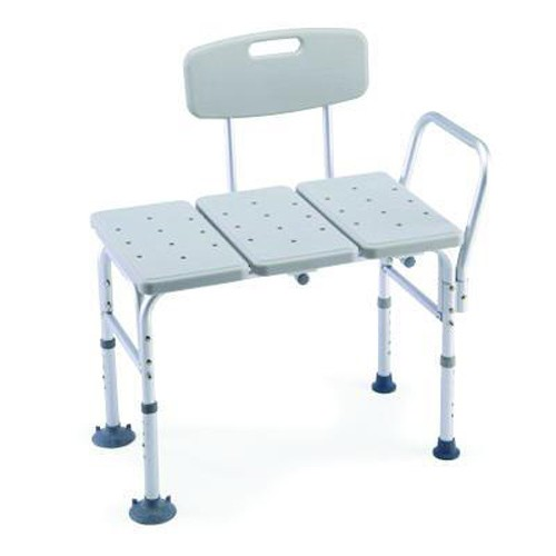 Invacare AdjustableTransfer Bench Economy Molded