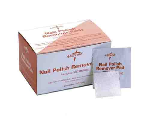 MedLine Nail Polish Remover Pads