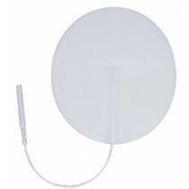 Soft Touch Silver Electrode Round