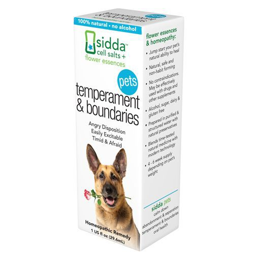 Temperment and Boundaries Homeopathic Remedy for Pets