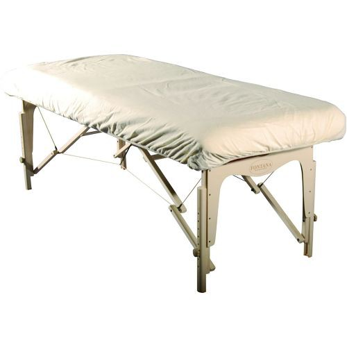 Fitted Flannel Table Cover for Massage Table
