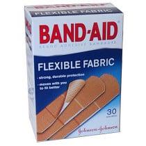 Band-Aid Flexible Fabric Adhesive Bandage Strips