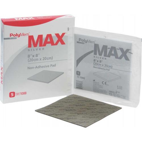 PolyMem Max Silver Non-Adhesive Dressings