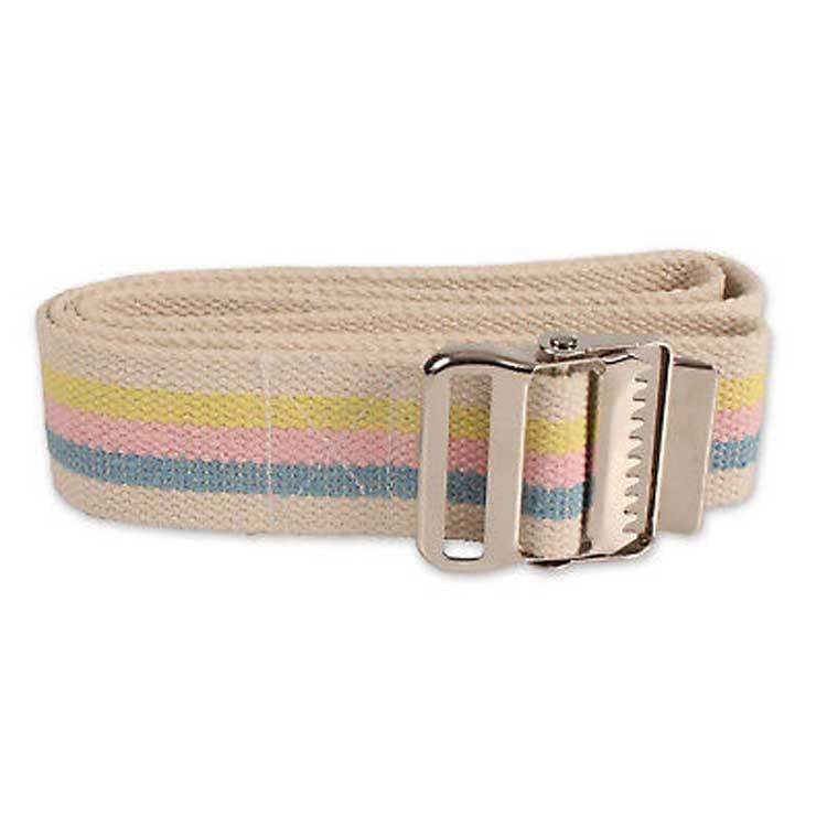 Yellow Medline MDT821203Ys Washable Cotton Gait Belts