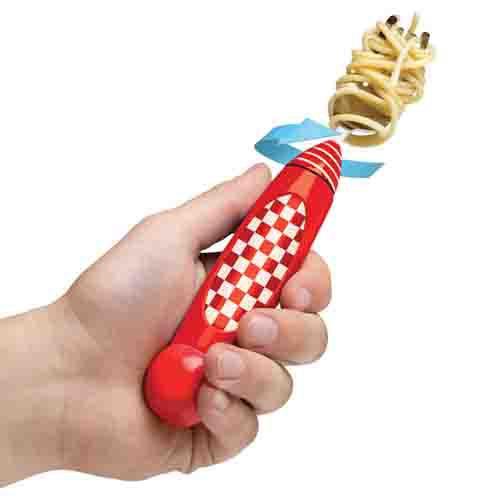 Spinning Spaghetti Fork