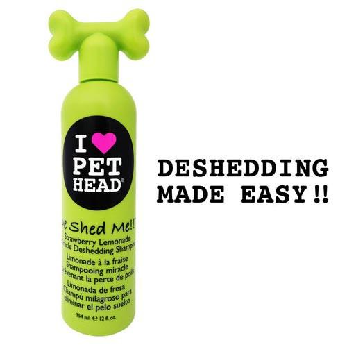 Pet Head De Shed Me Miracle Deshedding Shampoo