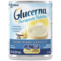 Glucerna Shakes Reclosable 8 oz plastic bottles Homemade Vanilla - 8 oz Can