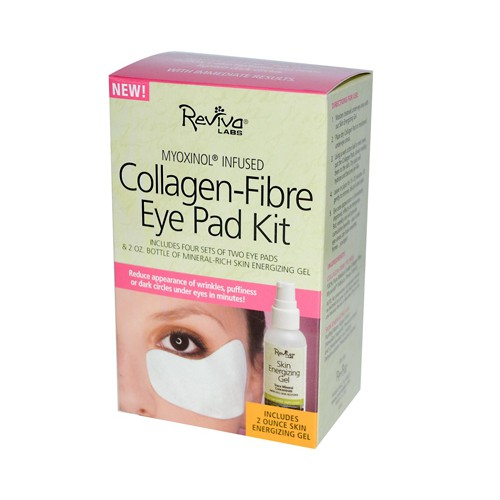 Reviva Labs Collagen Fibre Eye Pad Kit