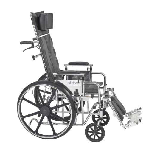 Sentra Reclining Wheelchair Bariatric Full Recline