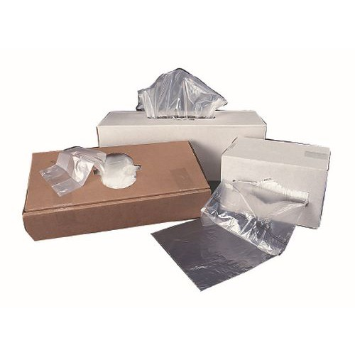 High Density Liners - Flat Pack Clear - 60 Gallon - Extra Heavy Duty