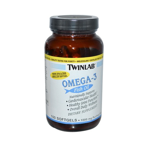 Twinlab Omega 3 Fish Oil Softgels
