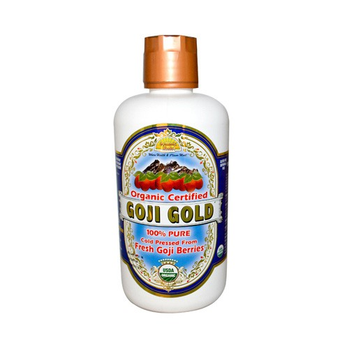 Dynamic Health Organic Certified Goji Berry Gold Juice