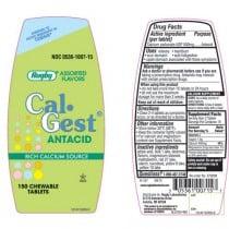 Cal-Gest Chewable Antacid