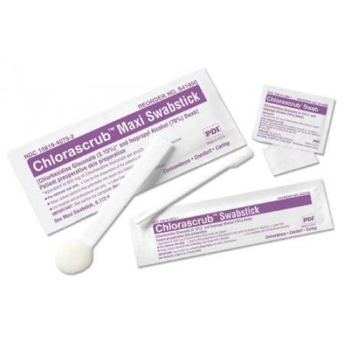 Chlorascrub Swabsticks