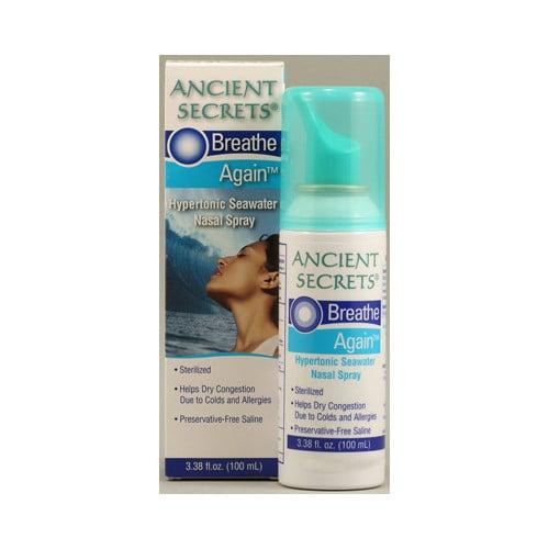 Ancient Secrets Breathe Again Nasal Spray