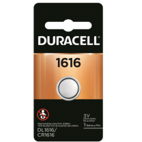 1616 Duracell Duralock Batteries