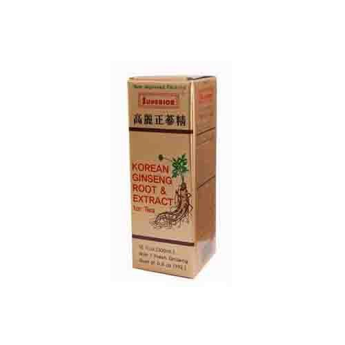 Korean Ginseng Root and Extract Energy Supplement
