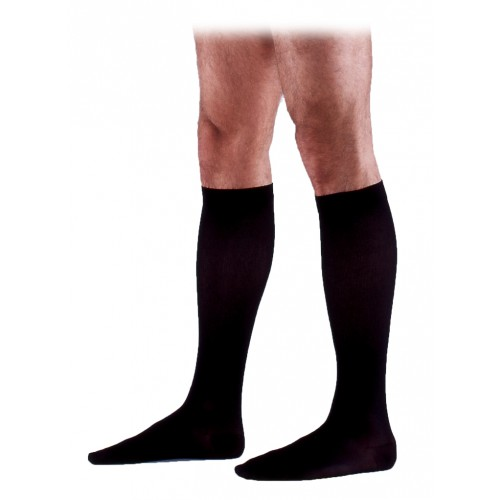 Sigvaris 230 Cotton Series Men's Knee High Compression Socks - 233C CLOSED TOE 30-40 mmHg
