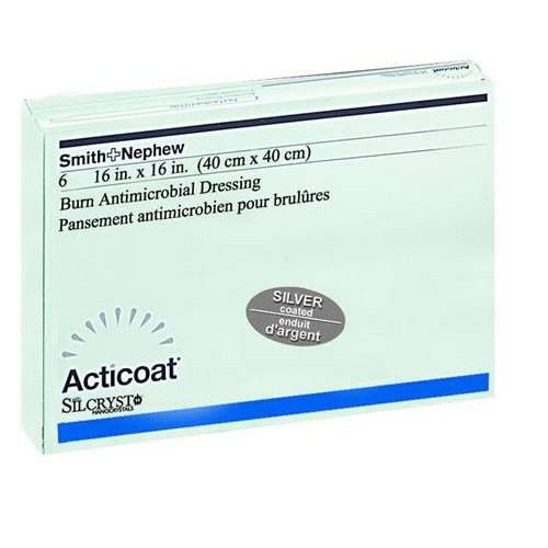 Acticoat SiLCRYST 20301 | 8 x 16 Inch by Smith & Nephew