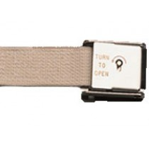 Posey Connecting Straps/Belts with Key Lock or Roller Buckles