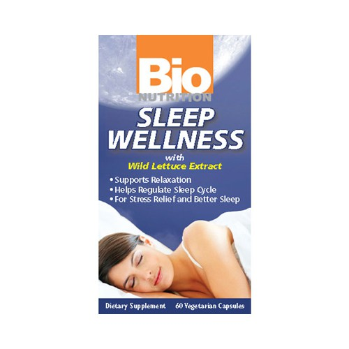 Bio Nutrition Sleep Wellness with Wild Lettuce Extract Natural Sleep Aid
