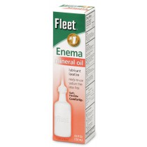 Fleet Enema Mineral Oil Lubricant Laxative