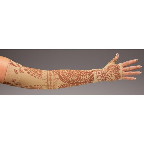 LympheDivas Bodhi Beige Compression Arm Sleeve 20-30 mmHg