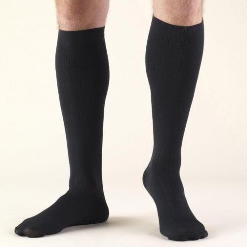 TRUFORM Men's Dress Knee High Socks 30-40 mmHg