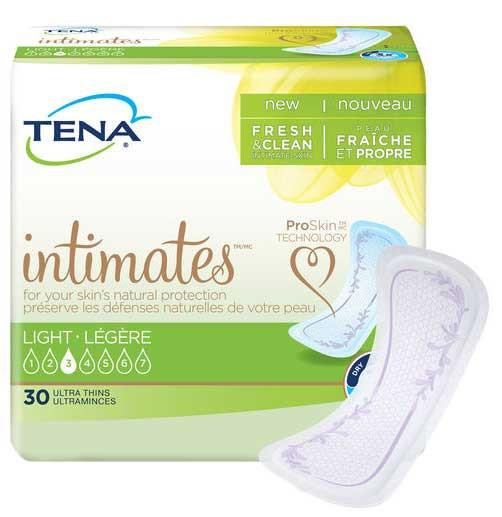 tena intimates light ultra thin pads regular e0b