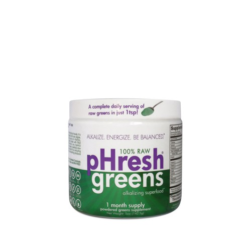Phresh Products Superfood Greens 100 Percent Raw Powder