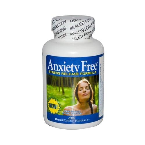RidgeCrest Herbals Anxiety Free Stress Relief Formula
