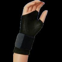Bell-Horn Fingerless Support Glove
